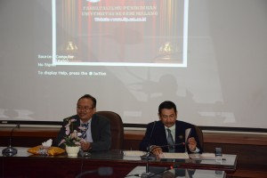 Ketua Jursan PLB UNIMA dengan Ketua Jurusan PLB FIP