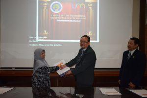 Ketua Jursan PLB UNESA dengan Ketua Jurusan PLB FIP