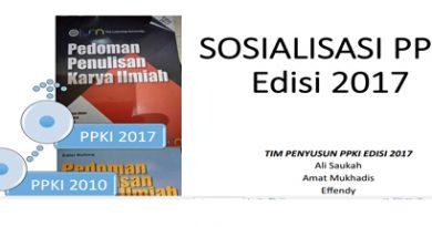 Sosialisasi PPKI Tahun 2017