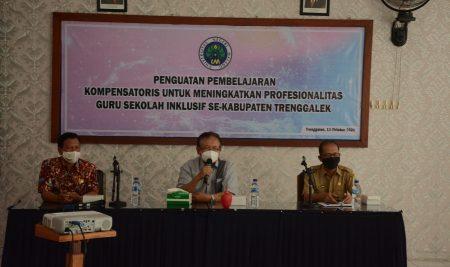 Penguatan Pembelajaran Kompensatoris Guru Sekolah Inklusif di Kabupaten Trenggalek